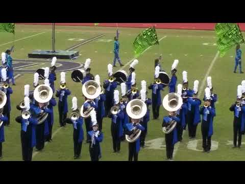 East Ascension High School Marching Band 2018