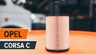 Cum se inlocuiesc uleiul de motor și filtrul de ulei pe OPEL CORSA C TUTORIAL | AUTODOC