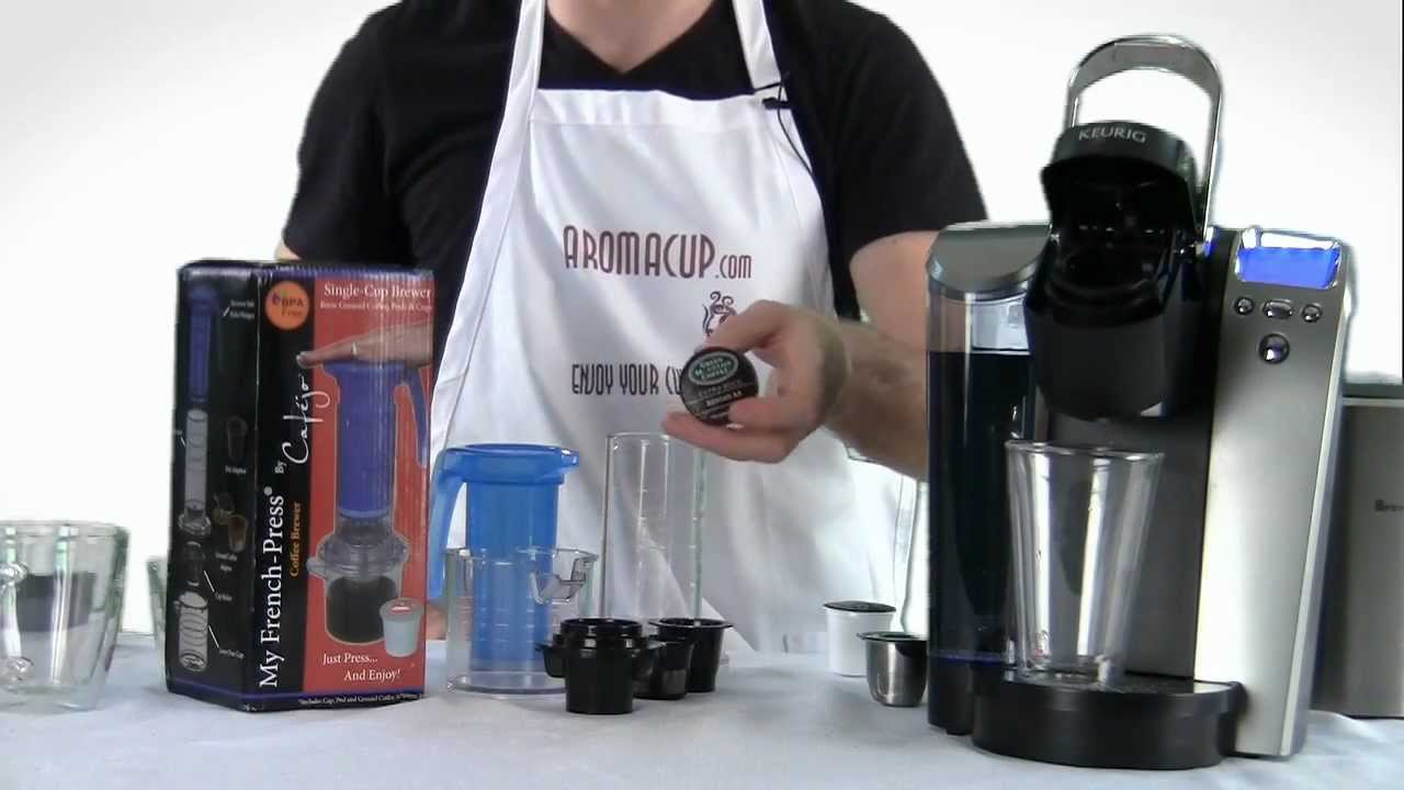 Keurig K Cup Brewer Vs My French Press Non Electric K Cup Coffee