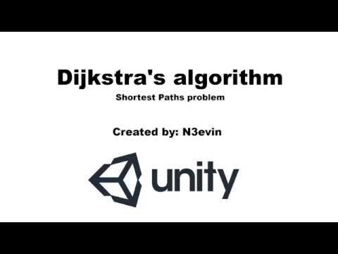 Dijkstra's Algorithm in Unity   N3evin's Portfolio