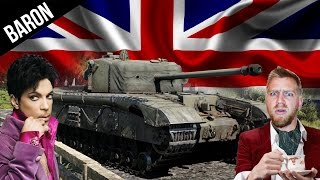Black Prince & Sherman Firefly Gameplay - War Thunder 1.53 British Tanks
