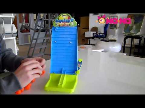 Видеообзор Игра настольная Падающие шарики