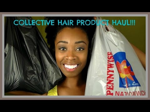 140. Collective Hair Product Haul || Pennywise, Yips Variety Store