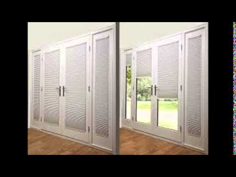 French Doors Blinds Youtube
