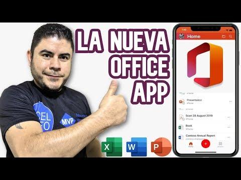 La Nueva Microsoft Office App Para Android Y IOS [Excel, Word Y PowerPoint]