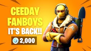 They Brought Back RAPTOR Skin! Fortnite Item Shop Update