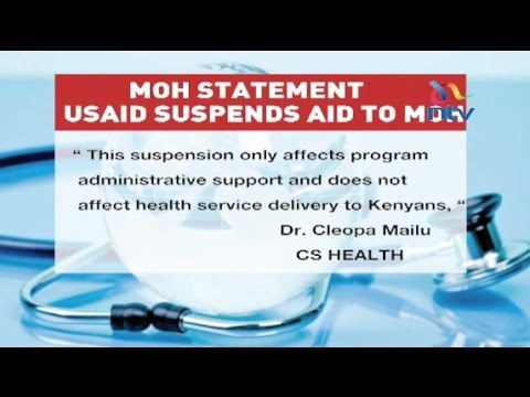 USAID cancels aid to government of Kenya's health ministry