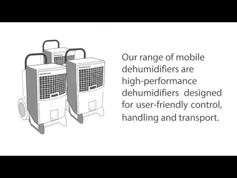Dantherm CDT Mobile Dehumidifiers