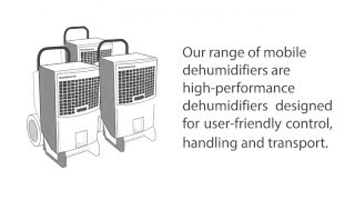 Dantherm mobile dehumidifiers
