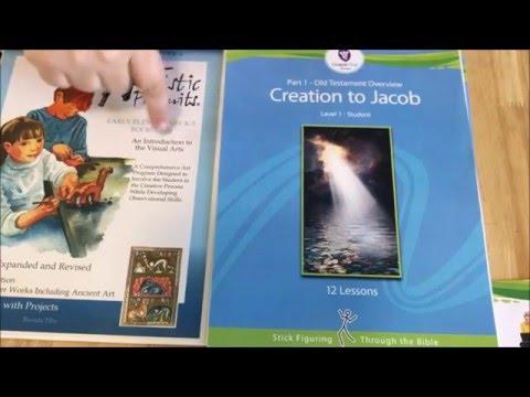 2016-2017 Homeschool Curriculum: Part 1