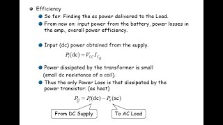 전자회로2 Ch12_4 Power Amplifiers:…