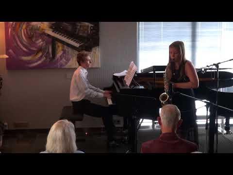 Bregje & Rangel Aria van Eugène Bozza for alto saxophone and piano