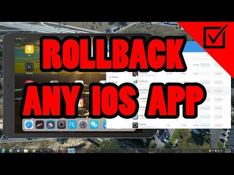 ✅How to roll back IOS Apps to previous versions - YouTube