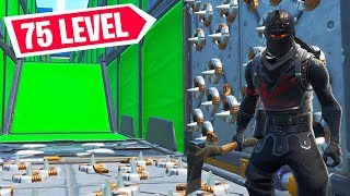 Der 75 LEVEL NO SKIN DEATHRUN in Fortnite!