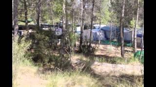 Camping el Cañar en Socovos, junto al Cenajo