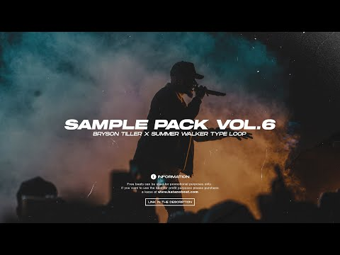 [FREE] RnB Sample Pack - VOL.6 | R&B/Trap Samples (Bryson Tiller, SZA, Summer Walker) | katanobeat