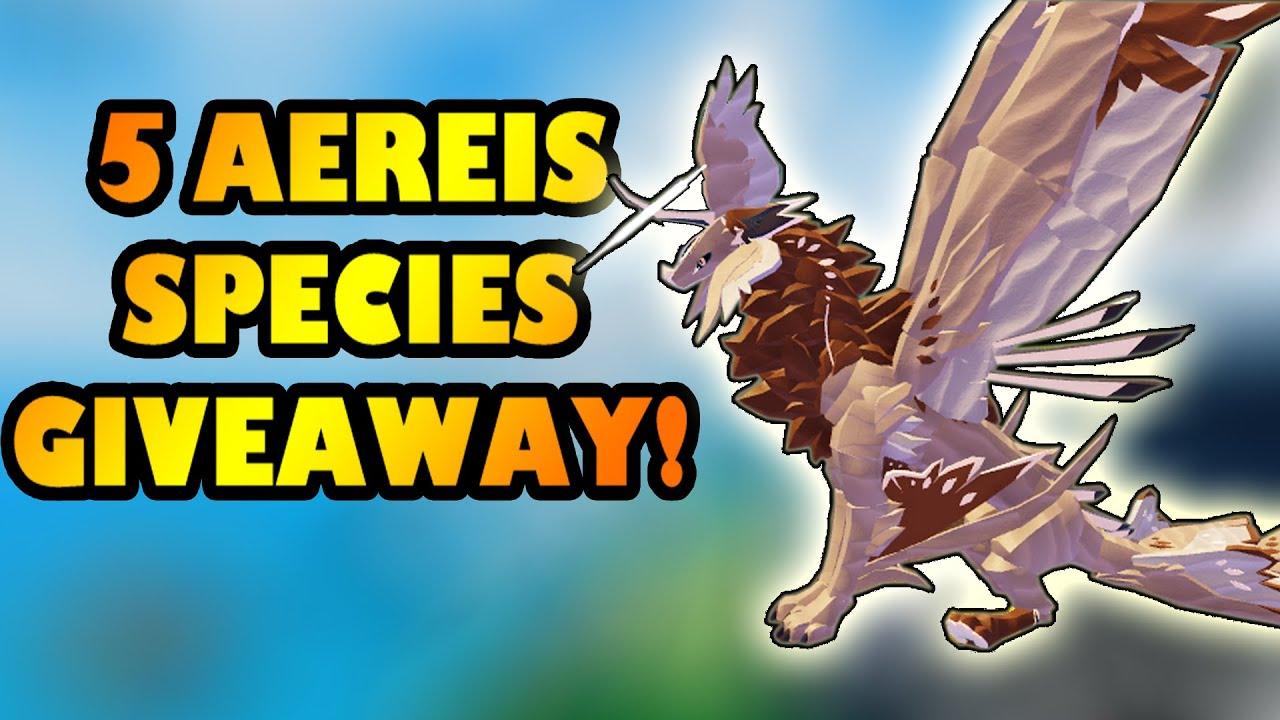 Download 5 AEREIS SPECIES GIVEAWAY - Creatures of Sonaria [Part 1]