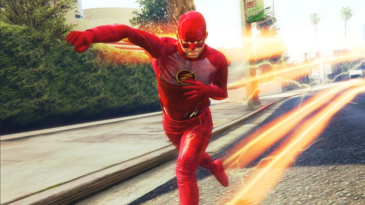 It is an image of Refreshing Flash Superhero Images