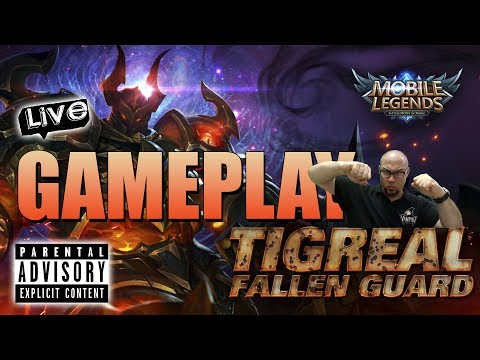 MOBILE LEGENDS ✪ GAMEPLAY EN DIRECTO ► TIGREAL FALLEN GUARD ★ SUFRIMIENTO MAXIMO!!