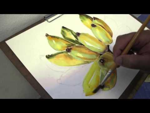 สีน้ำกล้วยๆ