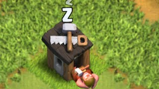 Clash of Clans - FUNNY NEW Builders Hut Glitch