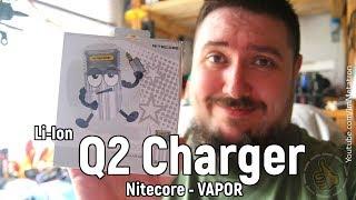 Q2 Charger Nitecore Review/Обзор Зарядка для вейперов