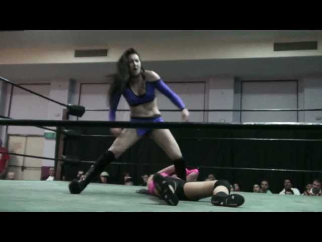 KC Cassidy VS Jessie McKay at King of the New School- Night 2 2010