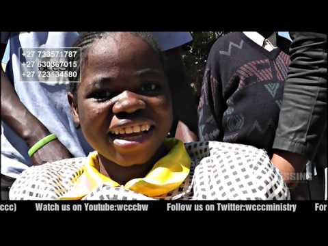 DONATION OF WHEELCHAIRS IN D R CONGO BY PROPHET LN JUSTIN