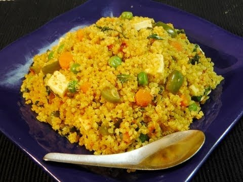 Quinoa tawa pulao pulav healthy indian recipe youtube quinoa tawa pulao pulav healthy indian recipe forumfinder