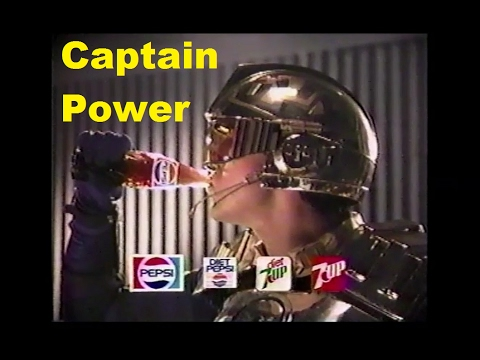 Captain Power Pepsi Contest Commercial 1987 PowerJet XT-7 Prize