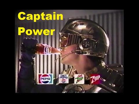 Captain Power Pepsi Contest Commercial 1987 PowerJet XT-7 Prize