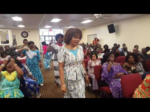 Special Song Ministration by Mrs. Diana Hamilton