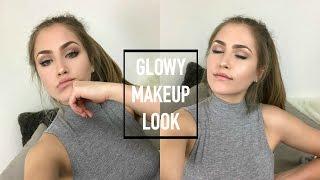 fresh glowy dewy makeup tutorial   mel joy