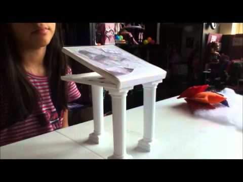 como hacer almohadas,lamparas y mesa de Rochelle Monster High Videos De Viajes