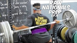 Raw Nationals Prep Ep. 4 - Hilarious Squat Fail | Breaking World Records!!
