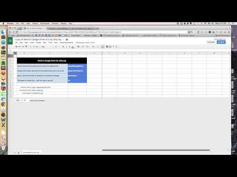 Tutorial:  Scan Documents to Google Drive