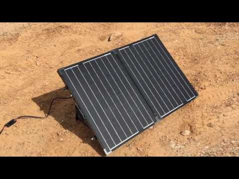 Tour of Mello Mike's 340 Watt Solar Power System