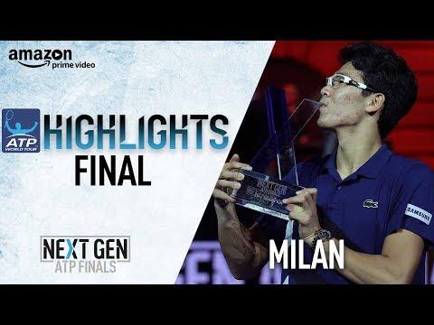 Highlights Chung Captures Inaugural Next Gen ATP Finals Title 2017