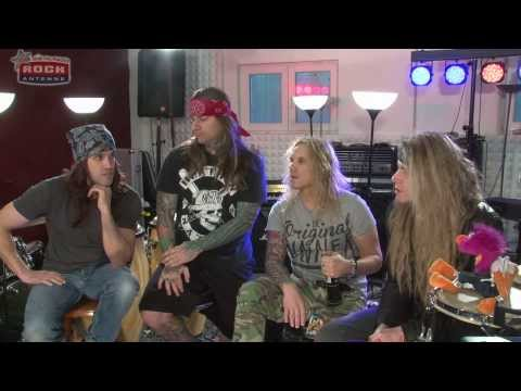ROCK ANTENNE  Interview mit Steel Panther