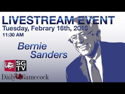 Election 2016: Bernie Sanders at U of SC | SGTV News 4