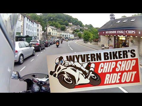 Wyvernbiker's Chip Shop Run To Matlock Bath