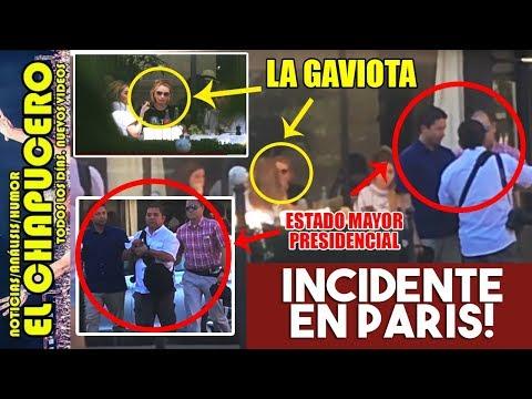PROTAGONIZAN LA GAVIOTA, HIJAS Y GUARURAS GRAVE INCIDENTE EN PARIS