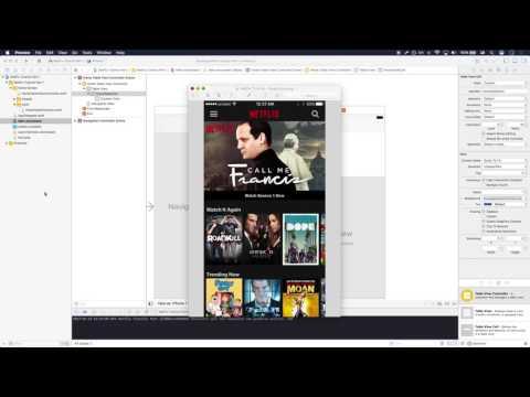 How To Build iOS Netflix App Part I