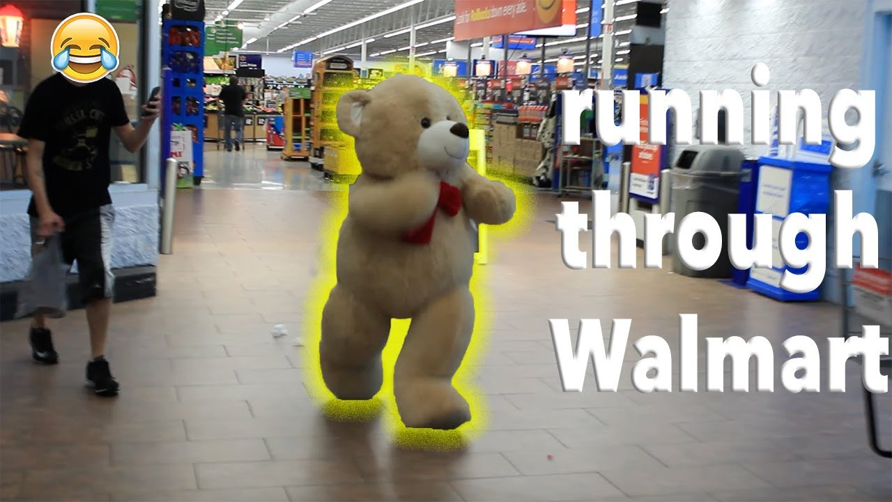 Giant Teddy Bear Comes To Life Youtube