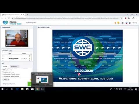 Организационно экономический и правовой вебинар SKYWAY  26 03 2020 года