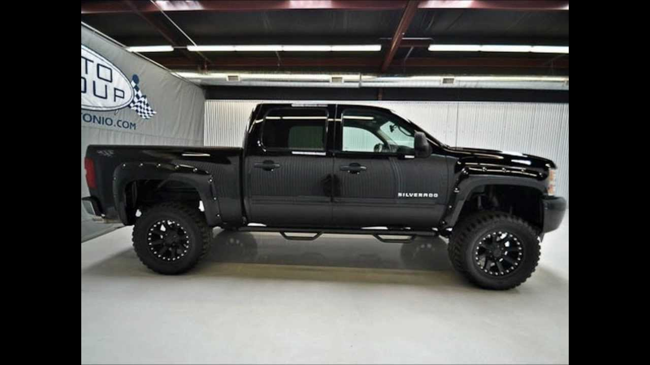 2011 chevy silverado 1500 lt 4wd lifted truck for sale youtube. Black Bedroom Furniture Sets. Home Design Ideas