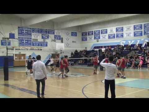 Boys Volleyball: Van Nuys vs Sylmar (2017)