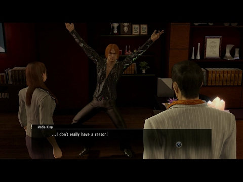 Yakuza 0 - The Media King