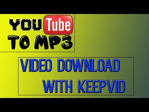 HOW TO: DOWNLOAD VIDEO AND CONVERT THEM INTO MP3