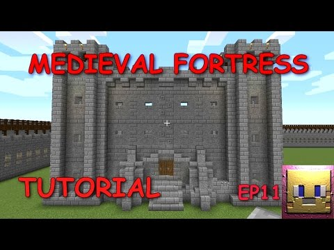 MINECRAFT - Medieval Fortress Tutorial EP11|Castle Keep